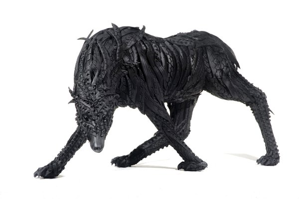 Recycled-Tire-Sculptures-by-Yong-Ho-Ji-5